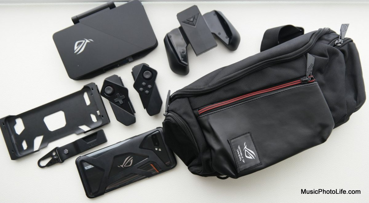 ASUS ROG Phone II and accessories