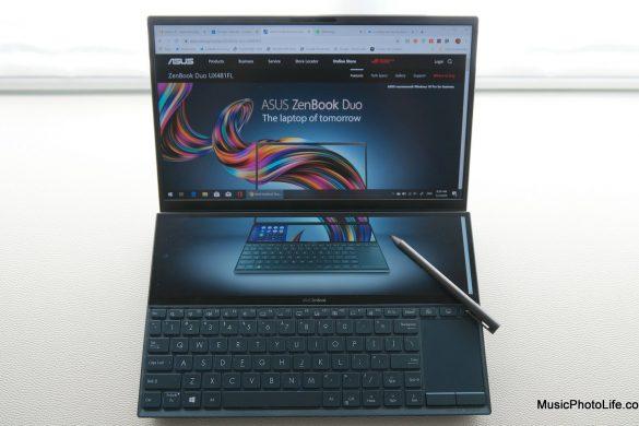 ASUS Zenbook Duo UX481 review