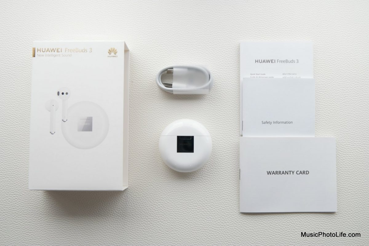 Huawei Freebuds 3 unboxing