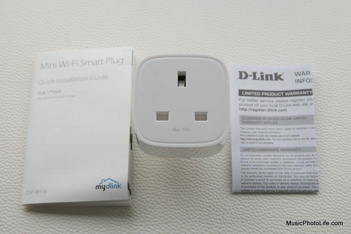 D-Link DSP-W118 Mini Smart Plug review by musicphotolife.com Singapore tech blog