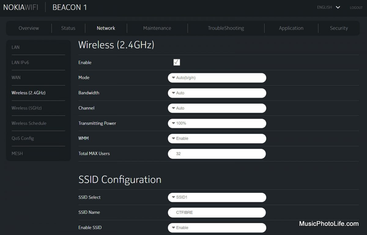 Nokia WiFi Beacon 1 router admin portal