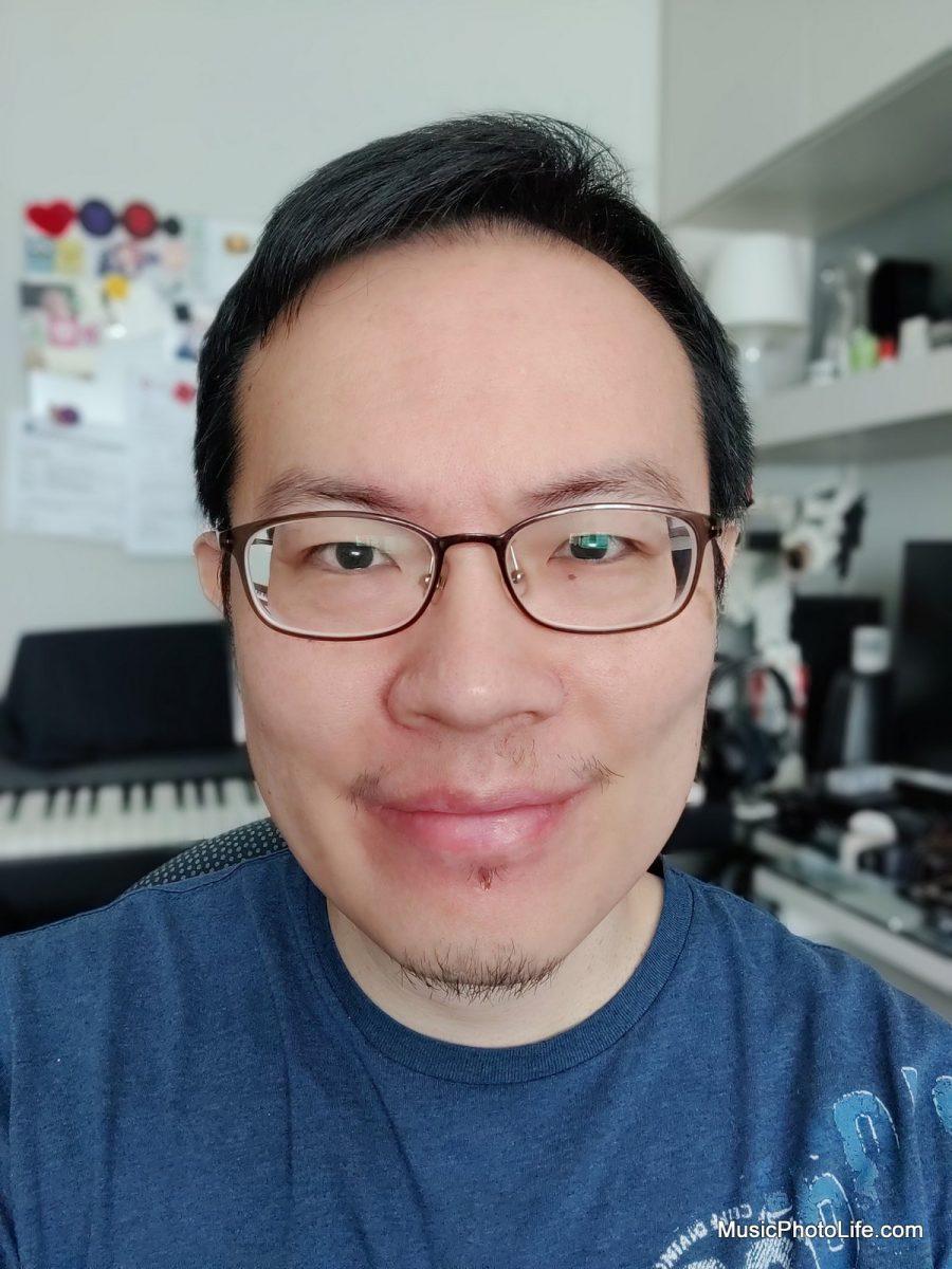 OnePlus 8 Pro sample photo - selfie