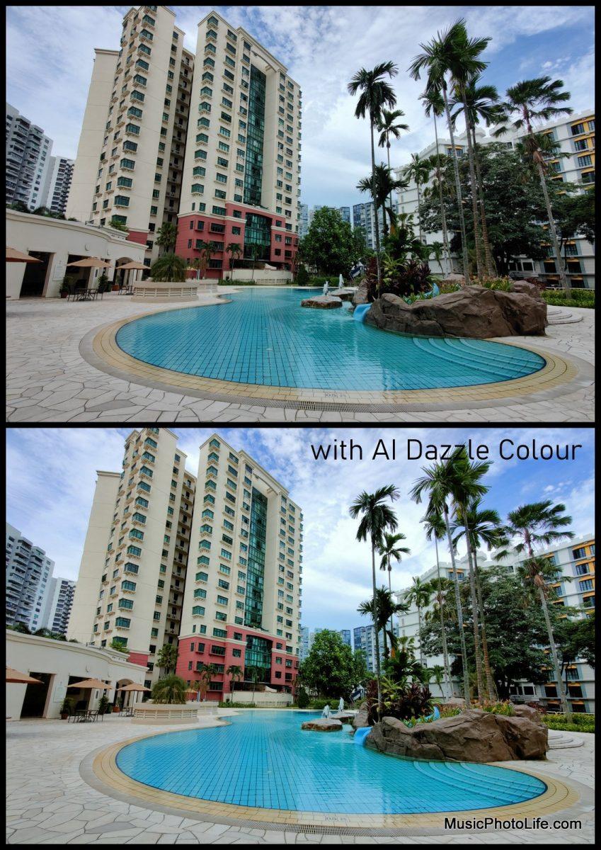 OPPO Find X2 Pro photo samples - AI Dazzle Colour Mode