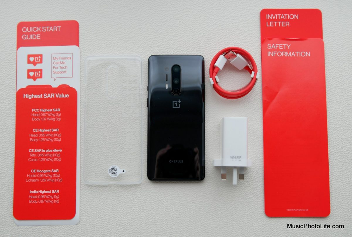 OnePlus 8 Pro unboxing review by Chester Tan tech blogger musicphotolife.com