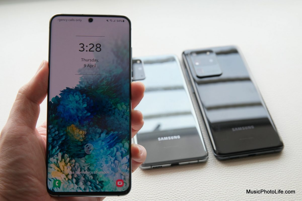 Samsung Galaxy S20 review by Chester Tan musicphotolife.com Singapore tech blog