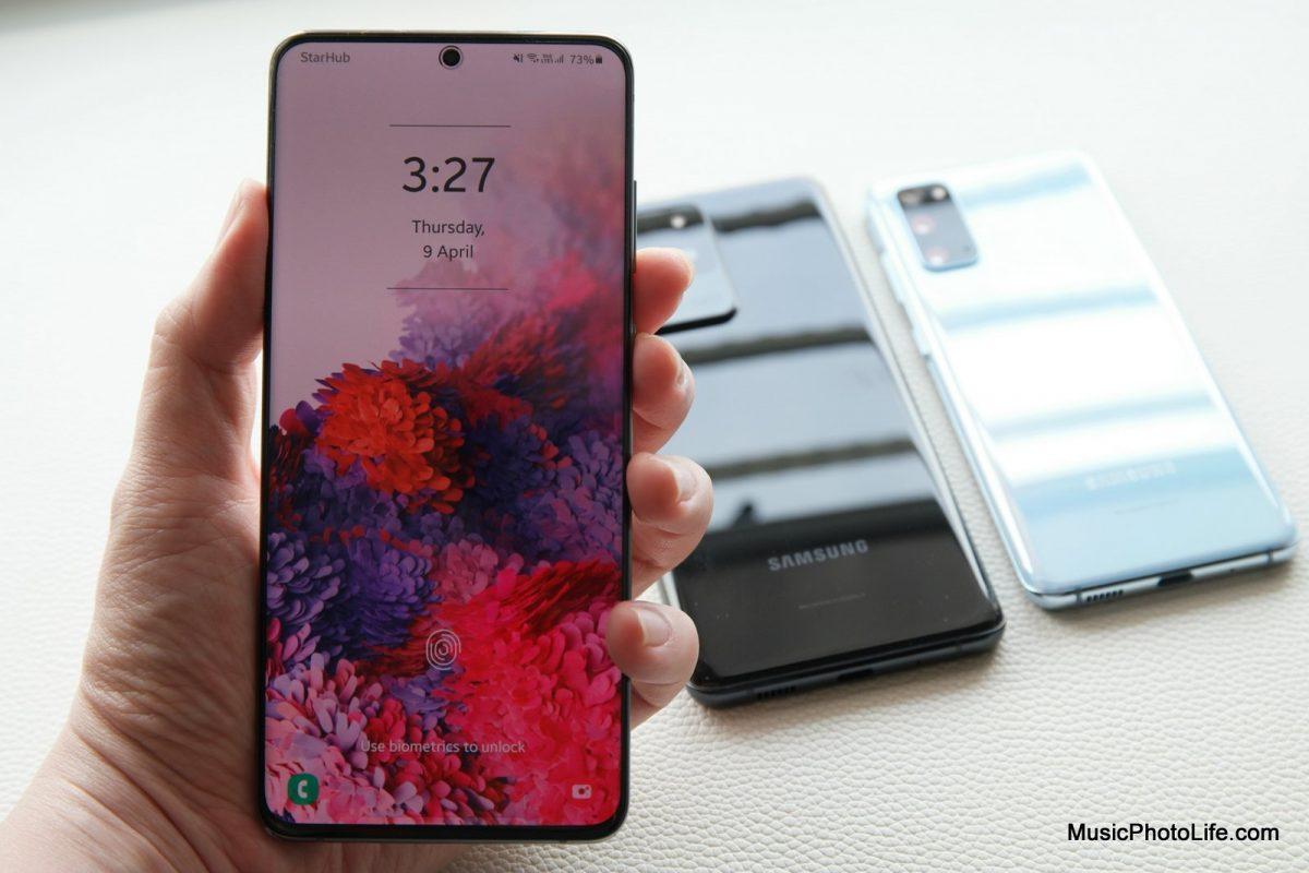 Samsung Galaxy S20+ review by Chester Tan musicphotolife.com Singapore tech blog