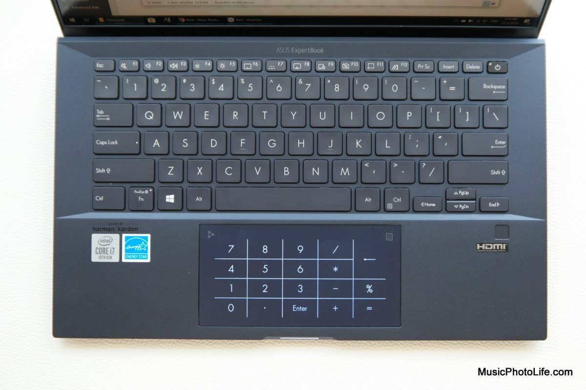 ASUS ExpertBook B9450 review by Chester Tan musicphotolife.com Singapore tech blog
