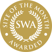 Singapore Website Awards Site of the Month badge